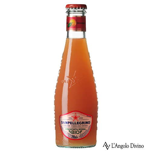 Sanpellegrino – Aranciata Rossa Bio – 20 cl.